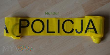 Taśma ostrzegawcza POLICJA