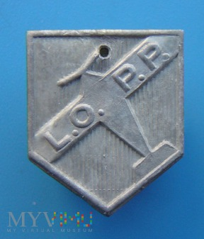 Odznaka kwestarska LOPP