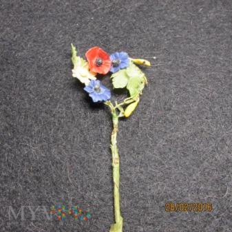 Kwiaty łąkowe wpinka KWHW