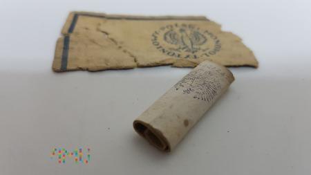 Papierosy PREZYDENT PMT - pudełko i niedopałek