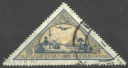 Lietuva . Oro paštas.