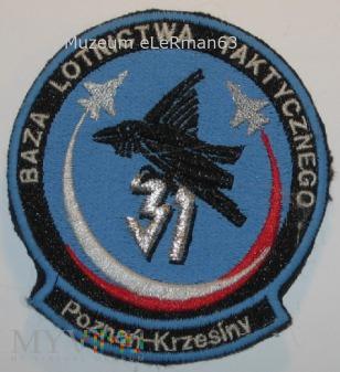31.Baza Lotnictwa Taktycznego. Poznań-Krzesiny.