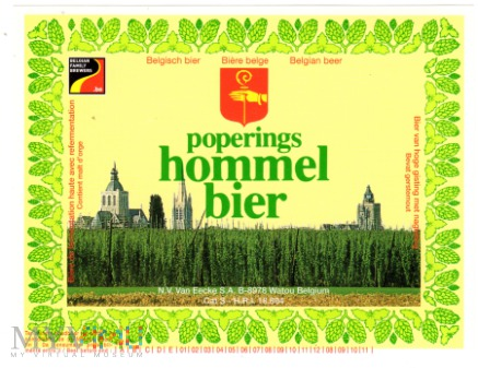 POPPERING HOMMEL BIER
