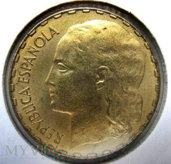 1 peseta 1937 r. Hiszpania
