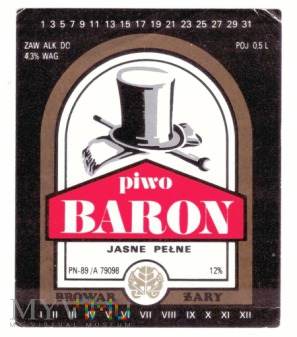 Duże zdjęcie Żary, Baron