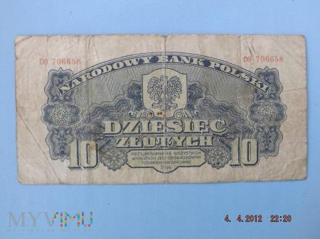 10 Złotych 1944r. - Polska