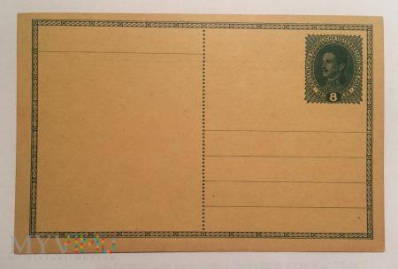Kartka pocztowa Austro-Węgry 8 Heller, 1916