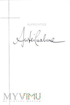 AUFRICHTIGE ANTEILNAHME