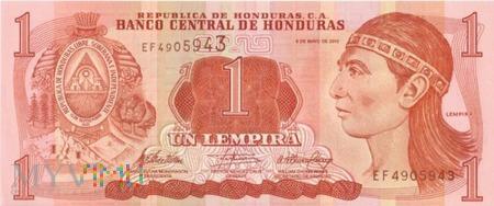 HONDURAS 1 LEMPIRA 2010