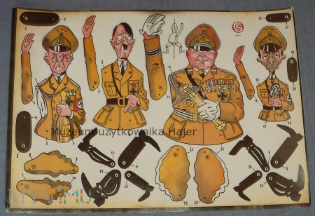 Duże zdjęcie Karykatury przywódców III Rzeszy