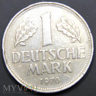 Niemcy RFN / marka 1 / 1970