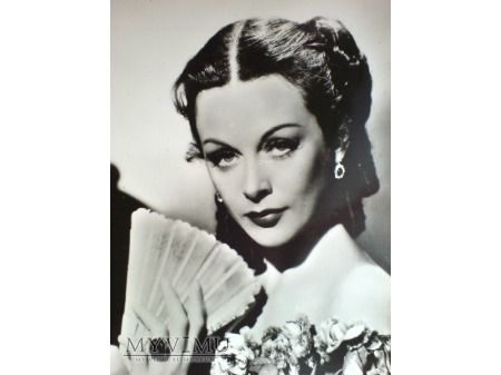Hedy Kiesler Lamarr 1949 Paramount Pocztówka