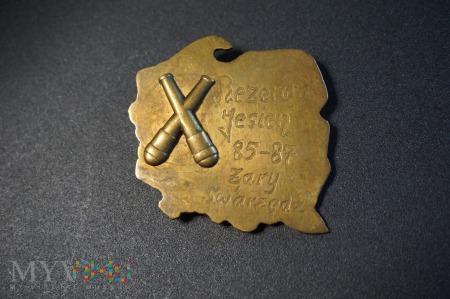 Odznaka Rezerwy - Jesień 85/87 - Artyleria