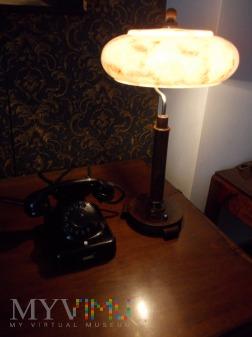 Lampa gabinetowa - biurkowa Art Deco