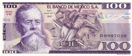 Meksyk - 100 pesos (1982)