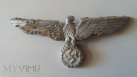 Gapa z czapki niemieckiej III Rzesza