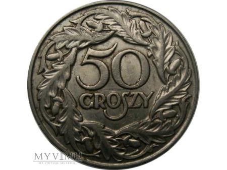 Duże zdjęcie 50 Groszy, 1923 rok.