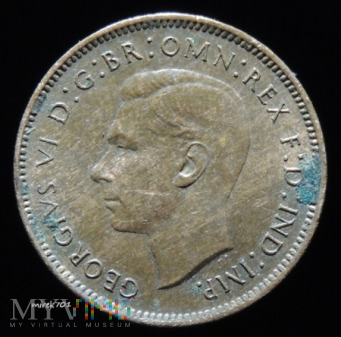 1 farthing 1948 Georg VI