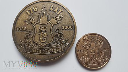 170 Lat Warszawskiej Straży Pożarnej miniatura