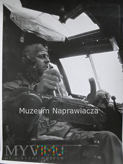Duże zdjęcie Pilot z Luftwaffe nad Polską