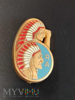 Pamiątkowa odznaka 6 Pułku Artylerii - Francja