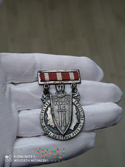 Odznaka Braterstwa Broni I Typ