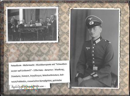 Fotoalbum - Wehrmacht - Musikkompanie