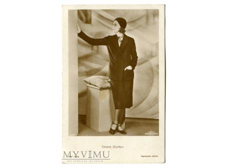 Greta Garbo Verlag Ross 5514/2 Vintage Postcard