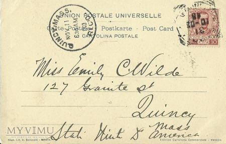 Włochy - Wenecja - 1903 r.