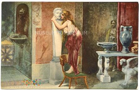 Duże zdjęcie Quo Vadis - Eunice całuje posąg - Alessandrelli