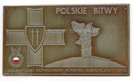 """Plakietka - """"POLSKIE BITWY 1978"""""""