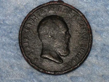 Duże zdjęcie Medal pamiątkowy koronacji cara Aleksandra III
