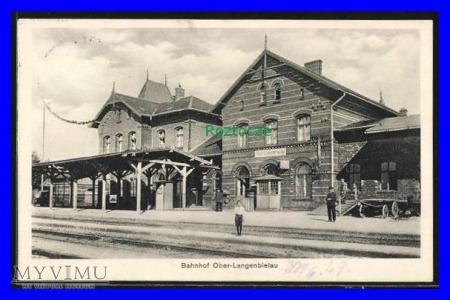 BIELAWA Ober-Langenbielau , Dworzec kolejowy