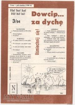 Dowcip...za dychę 3/94