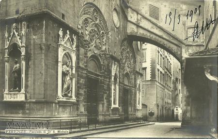 Włochy - Firenze - 1909 r.