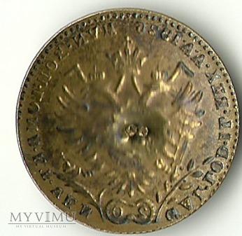 Austria - guzik monetopodobny