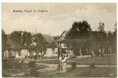 Rabka 1907. Wjazd do Zakładu