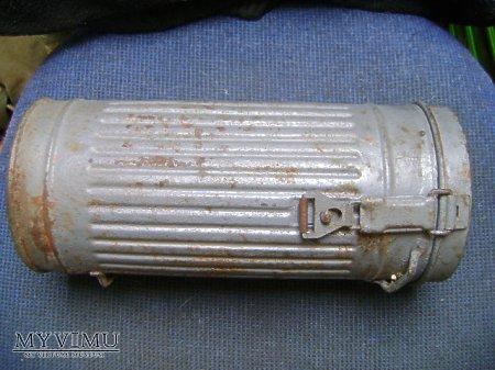 niemiecka puszka na maskę gazową