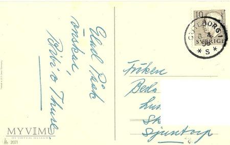 Glad Pask - Szwecja -1955 r.