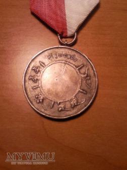 Medal pięciobój D.O.K VIII 1929 II Miejsce