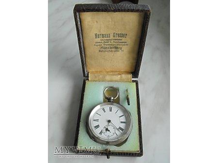 """""""Reklamówka"""" - Pudełko na zegarek kieszonkowy"""