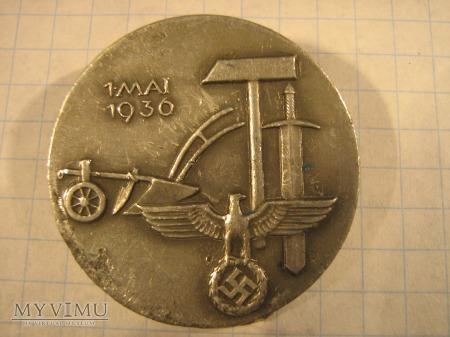 Odznaka pamiątkowa 1 maja 1936