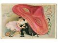 1930 Sofia Chiostri pierrot, maska, bal i zabawa