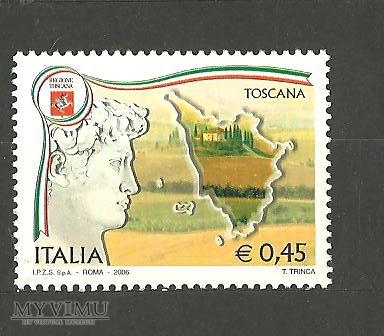 Region Toskania.