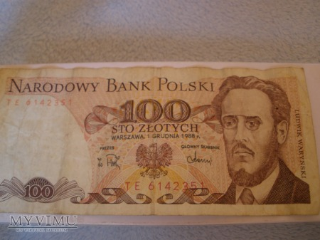 Stare sto złotych POLSKA