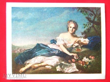 """Jean-Marc Nattier """"Córka Ludwika XV""""(Henrietta)"""