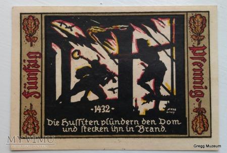 50 PFENNIG 1921 NOTGELD