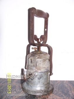 LAMPA KARBIDOWA KOLEJOWA -WILHELM SEIPPEL- 1944