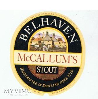 BELHAVEN mccallum's stout