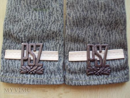 Pochewki z oznakami stopnia - st.szeregowy PSZ
